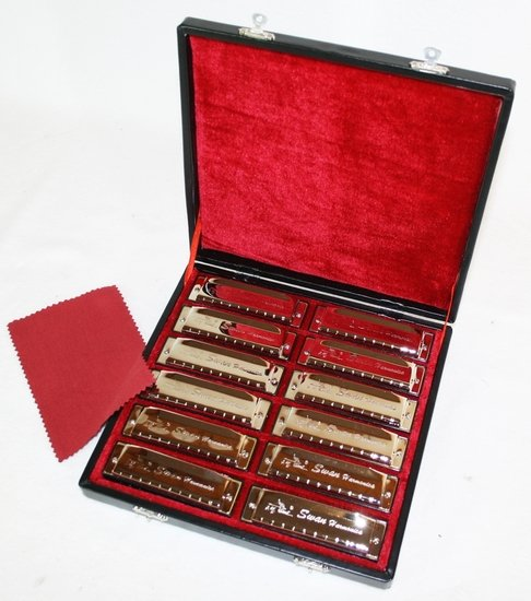 Mondharmonica Blues Set